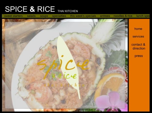 spice and rice restaurant